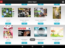 Screenshot of Edition Digital Showcase