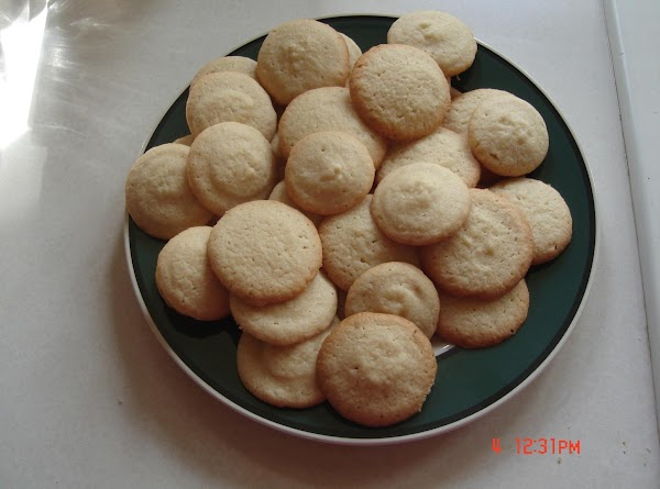 Vanilla Refrigerator Wafers Cookies Recipe