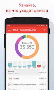 Дзен-мани: учет расходов Screenshot