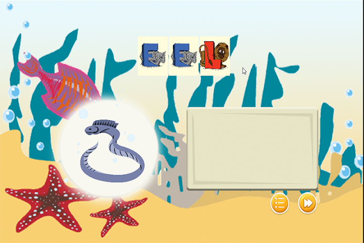 android Spelling Words Sea Animal Screenshot 4