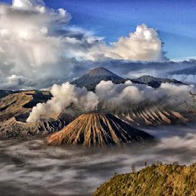 Bromo by Sefanya Dirgagunarsa - Landscapes Mountains & Hills