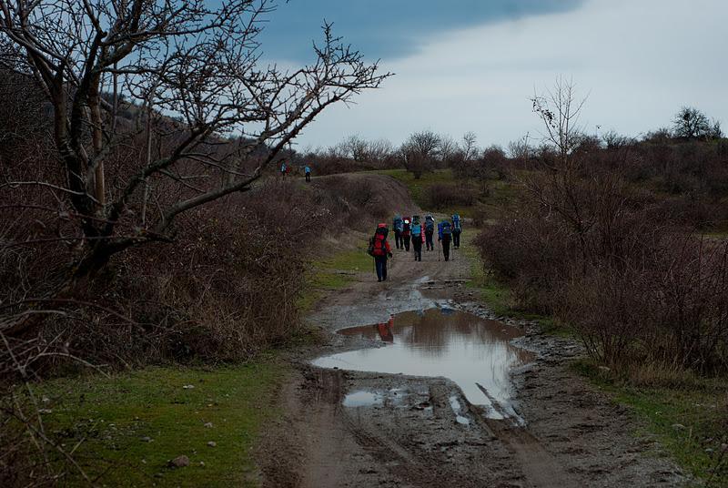 Отчет о пешем туристическом походе  II категории сложности по горному Крыму
