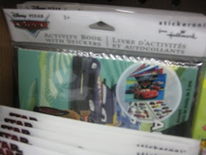 Photo: And this one even comes with an activity book.