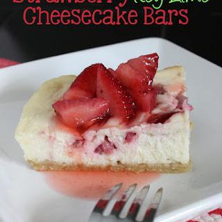 Strawberry Key Lime Cheesecake Recipes