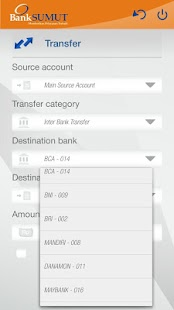 Bank Sumut New SMS Banking- screenshot thumbnail