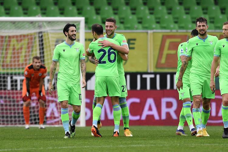 Serie A : La Lazio se replace et fait le plein de confiance avant la réception du Club de Bruges