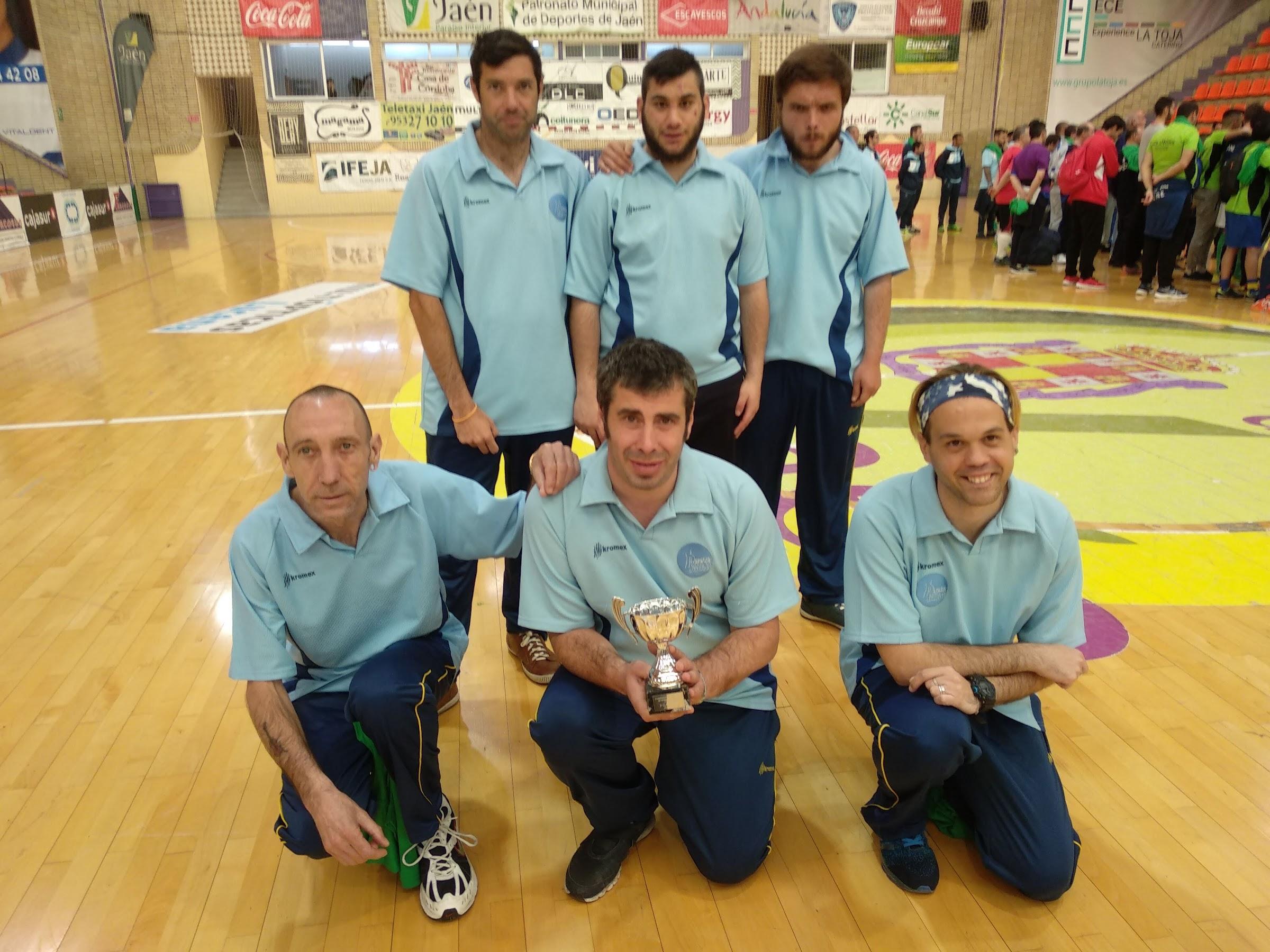 Apadis Algeciras hizo podium en el  Campeonato Andaluz de Fútbol Sala