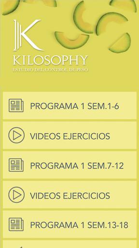 Kilosophy Training 5.64.10 screenshots 1