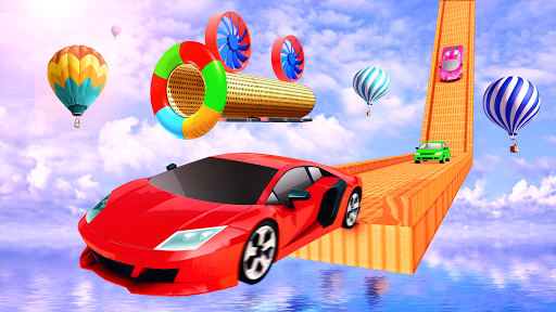 Impossible Track Car Driving Games: Ramp Car Stunt apkmr screenshots 1