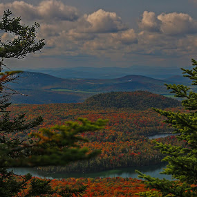 Haystack in all it's color by Bob Minnie - Landscapes Mountains & Hills