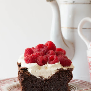 Flourless Salted Chocolate Cake - Gluten Free.
