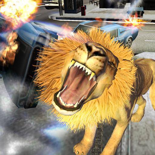 凶猛的狮子 模擬 App LOGO-APP試玩