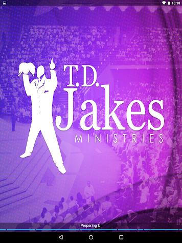 TD Jakes Ministries Screenshot