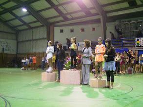 Photo: clarita compartiendo podium