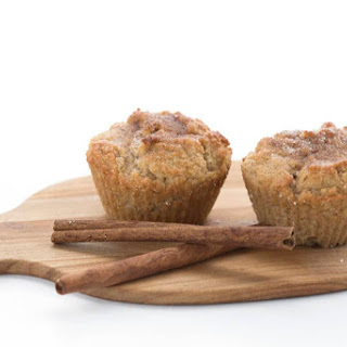 Low Carb Snickerdoodle Muffins.