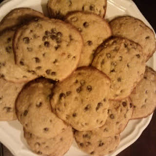 Paleo Soft, Fluffy, Chocolate Chip Cookies.