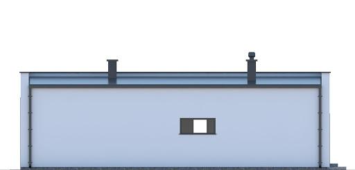 G248 - Budynek rekreacji indywidualnej - Elewacja tylna