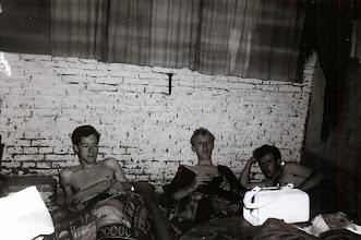 Photo: Slapen, Harm Jan Lanjouw, Lute Enting en Jans Zandvoort
