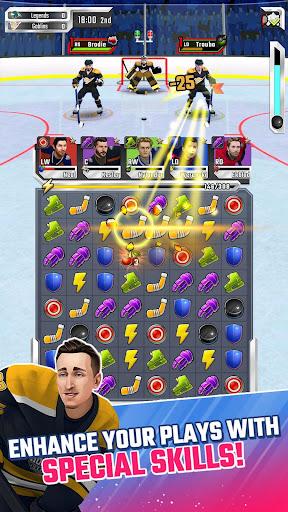 Puzzle Hockey - Official NHLPA Match 3 RPG 2.34.0 screenshots 5