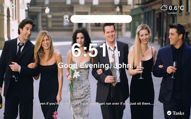 Friends HD Wallpapers New Tab Themes