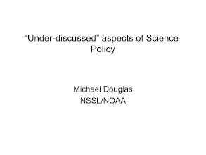 Photo: talk given while I was still a NOAA employee...