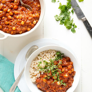 Stewed Chickpeas in the Instant Pot (stovetop method too).
