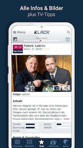 KLACK Fernseh- & TV-Programm 1.18.8 screenshots 3