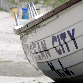 Ocean City by Denise Guthery - Landscapes Beaches ( ocean city new jersey )