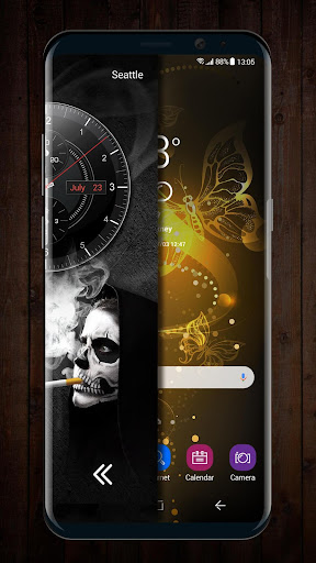 2018 Skull Lighter Lock Screen - Click to Unlock for PC