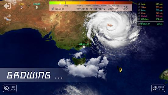 Hurricane.io - náhled