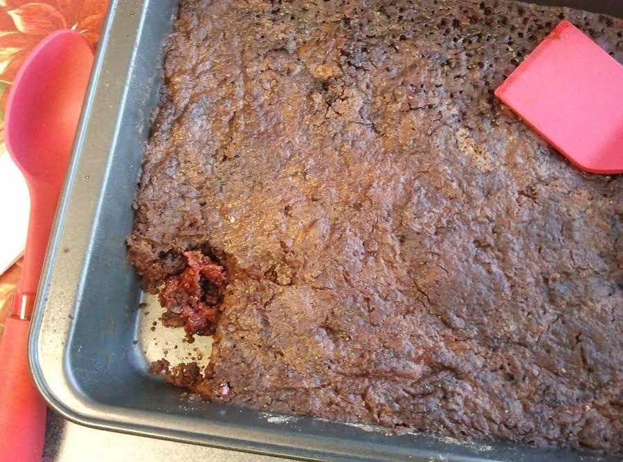 Cherry Chocolate Dump Cake Recipe Just A Pinch Recipes