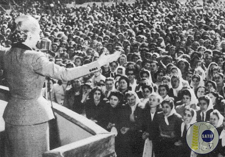 Evita, el fuego que enciende nuestra pasión solidaria
