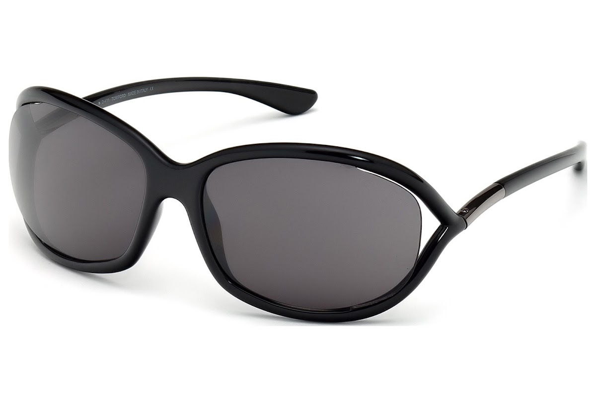 Acheter Lunettes de soleil Tom Ford Jennifer FT0008 C61 199 (shiny black    smoke)   opti.fashion 091f51e2922c