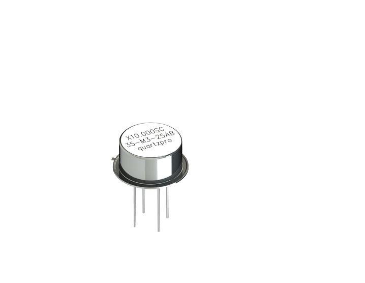 Quartz Crystal 10.000 MHz  SC HC-35/U 3rd overtone  CL 20pF