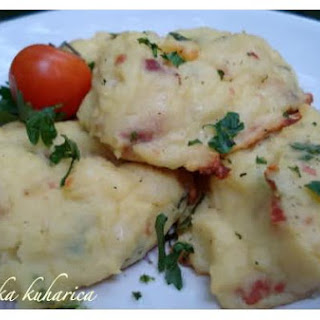 Potato Dumplings With Ham and Herbs