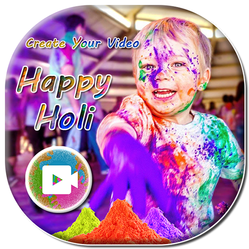 Happy Holi Photo Video Maker