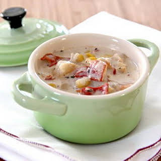 Slow Cooker Lobster Chowder.