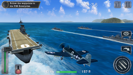 Air Combat Pilot: WW2 Pacific  screenshots 13