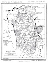 Photo: 1868 oude kaart Princenhage