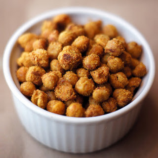 Spicy Roasted Chickpeas.