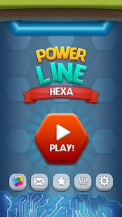 Flow Free: Electric Line Color Hexa- screenshot thumbnail