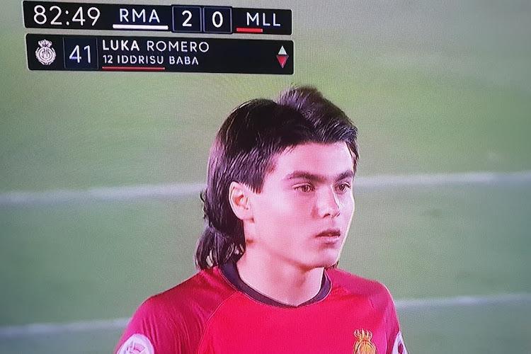 Luka Romero, 15 ans, entre dans l'histoire de La Liga