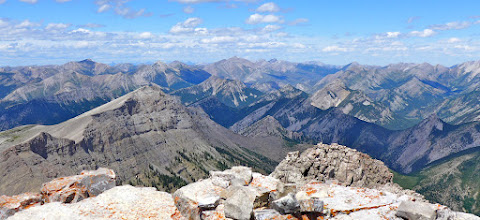 Photo: 2016 - View from the summit looking north toward Glacier Park.