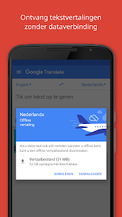 Google Translate: miniatuur van screenshot