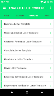 English letter writing android apps on google play english letter writing screenshot thumbnail spiritdancerdesigns Images