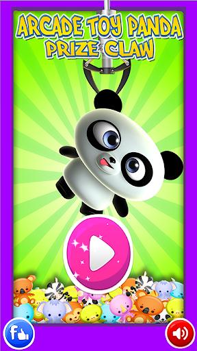 Panda Plush Toy Claw Machine
