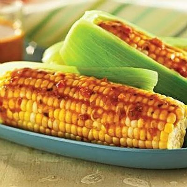 Spicy Texas Grill Roasted Corn Recipe