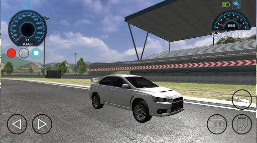 Code Triche Lancer Evo Car Race Drift Simulator APK MOD screenshots 3
