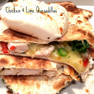 Chicken and Lime Quesadillas Recipe