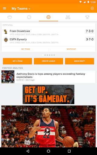 ESPN Fantasy Sports 6.1.2 screenshots 9